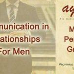 Communication in Relationships for Men