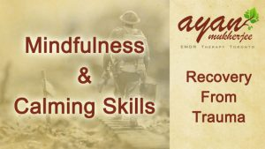 emdr therapy toronto ayan mukherjee mindfulness calming skills