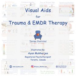 Visual Aids Flipbook for Trauma and EMDR Therapy Therapy Illustrated Ayan Mukherjee